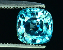 AAA Brilliance 1.60 ct Blue Zircon Cambodia ~K