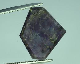 Rarest 10.65 ct Trapiche Pink Kashmir Sapphire ~K