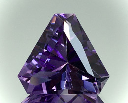8.70 Ct Natural Amethyst Top Cutting Top Quality Gemstone.ATF 07