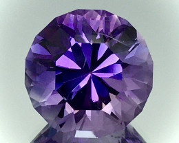 10.80 Ct Natural Amethyst Top Cutting Top Quality Gemstone.ATF 08