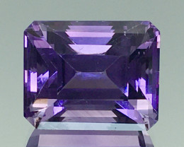 8.20 Ct Natural Amethyst Top Cutting Top Quality Gemstone.ATF 12