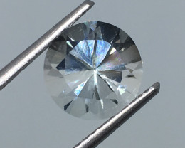 3.90 Carat VVS Topaz - Diamond Cut Polished Quality !