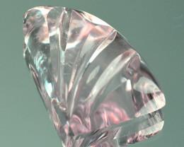 9.78 Cts Natural Peach Pink Morganite Fancy Shape Brazil