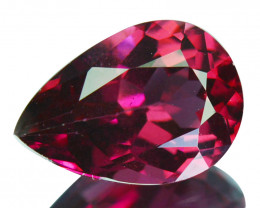 1.62 Cts Natural Rose Pink Rhodolite Garnet Pear Cut Mozambique