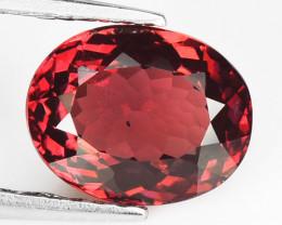 2.19  Cts Unheated Natural Pinkish Red Rhodolite Garnet Gemstone