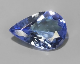 1.25 CTS~SPECTACULAR NATURAL ULTRA RARE LUSTER BLUE TANZANITE~