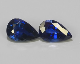 0.90 CTS EXCELLENT NATURAL ULTRA RARE MADAGASCAR  BLUE SAPPHIRE!$350.00