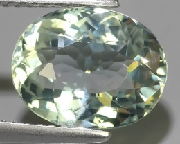3.50 CTS FANTASTIC HUGE AWESOME  NATURAL OVAL CUT AQUAMARINE~EXCELLENT!!