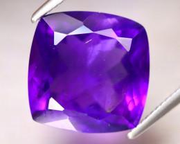 Amethyst 6.13Ct Natural Uruguay Electric Purple Amethyst DF3029/A2