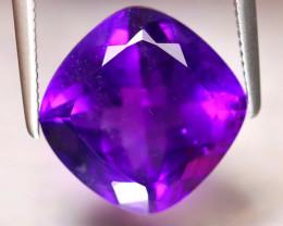Amethyst 5.64Ct Natural Uruguay Electric Purple Amethyst DF3030/A2