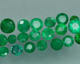 1.740 CRT 20 PCS STUNNING PARCEL COLOMBIAN EMERALD-