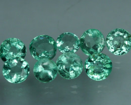 1.620 CRT 9 PCS STUNNING PARCEL COLOMBIAN EMERALD-