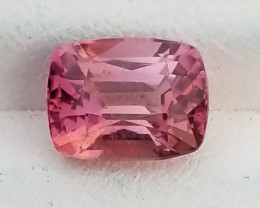 Natural Tourmaline gem.