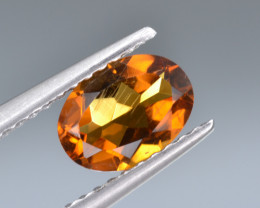 Natural Madeira Citrine 0.74 Cts Good cutting and Top Luster