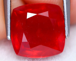 Red Ruby 4.67Ct Square Cut Pigeon Blood Red Ruby A2803