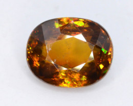 Rare AAA Astonishing Fire 2.60 ct Imperial Sphene ~ AG