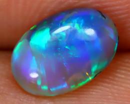 0.96Ct Australian Lightning Ridge Crystal Opal C2809