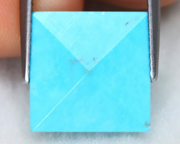 Turquoise 5.87Ct Natural Blue Color Sleeping Beauty Turquoise C2811