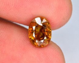 Rare AAA Astonishing Fire 2.20 ct Imperial Sphene ~ AG