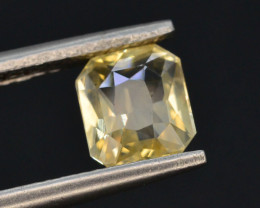 Top Color 1.15 ct Natural Yellow Sapphire