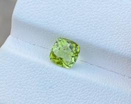 1.30 Ct Natural Greenish Transparent Tourmaline Gemstone
