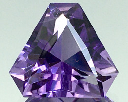 4.55 Ct Natural Amethyst Top Cutting Top Quality Gemstone.ATF 20