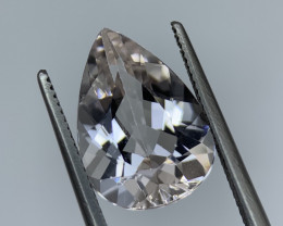 4.20 Cts Natural Brazill cut  Morganite Gemstone