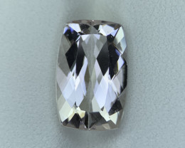5.05 Cts Natural Brazill cut Morganite Gemstone