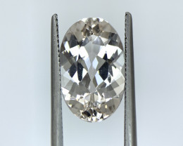 4.35 Cts Natural Brazil cut  Morganite Gemstone