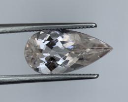 3.60 Cts Natural Brazil cut Morganite Gemstone