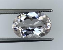 3.80 Cts Natural Brazil cut Morganite Gemstone