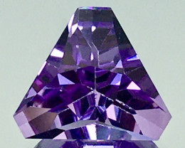 5.85 Ct Natural Amethyst Top Cutting Top Quality Gemstone.ATF 16