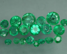 1.515 CRT 20 PCS STUNNING PARCEL COLOMBIAN EMERALD-
