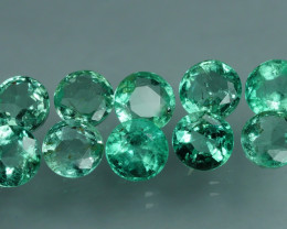 1.860 CRT 10 PCS STUNNING PARCEL COLOMBIAN EMERALD-