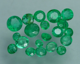 1.175 CRT 20 PCS STUNNING PARCEL COLOMBIAN EMERALD-