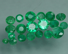 1.160 CRT 20 PCS STUNNING PARCEL COLOMBIAN EMERALD-