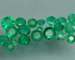 1.265 CRT 20 PCS STUNNING PARCEL COLOMBIAN EMERALD-