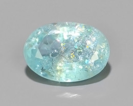 Private Auction ~Natural Paraiba Copper Bearing Neon blue Tourmaline Gem~