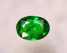 Tsavorite 0.63Ct Natural Intense Vivid Green Color Tsavorite Garnet  E3102