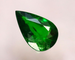 Tsavorite 0.78Ct Natural Intense Vivid Green Color Tsavorite Garnet D0102