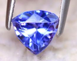 Tanzanite 0.95Ct Natural VVS Purplish Blue Tanzanite DF0129/D3