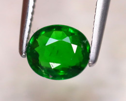 Tsavorite 0.70Ct Natural Intense Vivid Green Color Tsavorite Garnet EF0223
