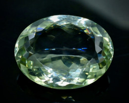 29.61 Crt Green Prasiolite Amethyst Faceted Gemstone (Rk-100)