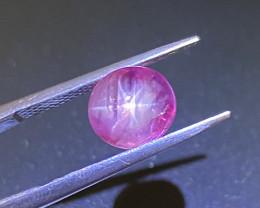 3.91ct Natural pink star sapphire