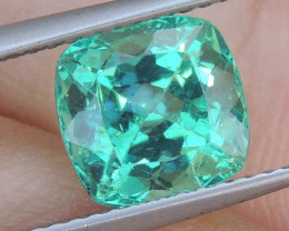 3.00cts Apatite,  Top Color Top Cut