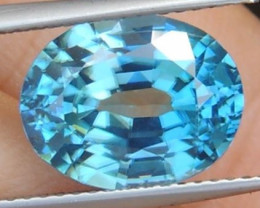 7.00cts Blue Zircon from Cambodia