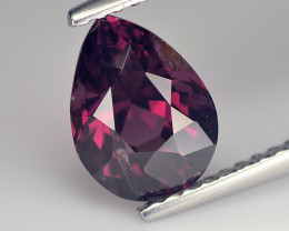 Stiking Pink Cylon Spinel 1.9 Cts step Cut Pear BGC578