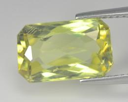 Beautiful  Kunzite 4.91 Cts Yellow Step cut BGC745