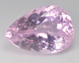Hypnotic  Kunzite 13.84 Cts Pink Step cut BGC736