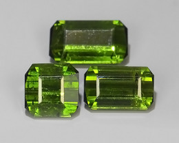 3.55 CTS-ALLURING TOP FANCY PARTY COLOR GREEN TOURMALINE EXCELLENT!!